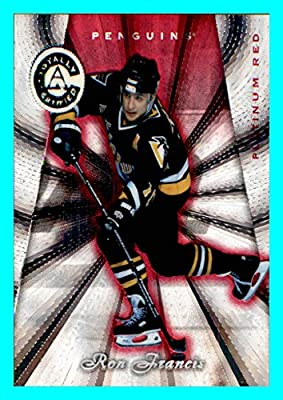 1997-98 Pinnacle Totally Certified Platinum RED #121 Ron Francis PITTSBURGH PENGUINS SERIAL #3491/6199
