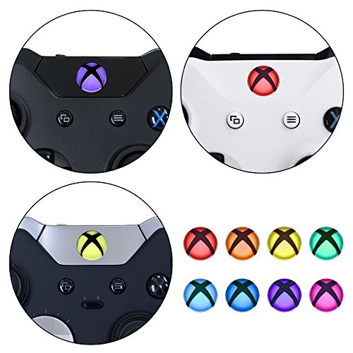 eXtremeRate Custom Home Guide Button LED Mod Stickers for