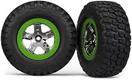 SLasH 2WD stampede 2WD Bandit Rustler RPM80524 Sealed Gear Cover Green
