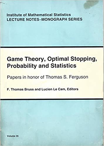 Game Theory, Optimal Stopping, Probability & Statistics: Paper in