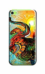 Everything Store DIY Fancy Elephant Phone Shell Hard Case Perfect For Iphone 6 With 5.5
