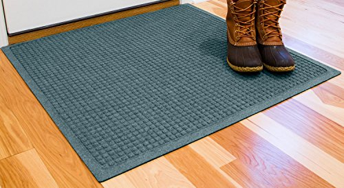 Cheap  Hudson Exchange Waterhog Fashion Polypropylene Fiber Entrance Indoor/Outdoor Floor Mat, 35