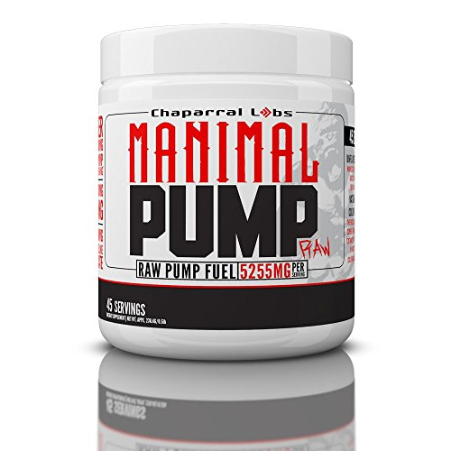 Manimal Pump RAW Stimulant Free N.O. Boosting Supplement! 100% Risk Free Money Back Guarantee!