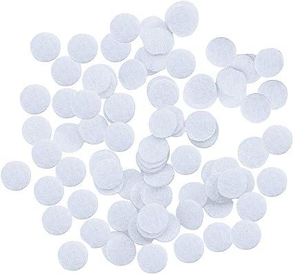 Filtro de algodón, 200 piezas 11 mm Microdermoabrasión Esponja Filtro de repuesto de aspiradora facial para dermoabrasión al vacío blanco (11 mm): Amazon.es: Belleza