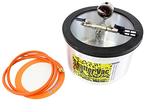 SV 2 Gallon Aluminum Vacuum Chamber and Polycarbonate Lid (Pro Vac Vacuum Chamber compare prices)