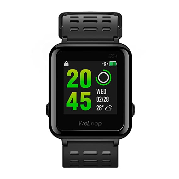 WeLoop Hey 3S deportes Smartwatch, Fitness Tracker ...