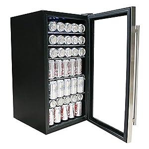Whynter BR-130SB Beverage Refrigerator with Internal Fan, Stainless SteelBR-130SB Beverage Refrigerator with Internal Fan, Stainless Steel