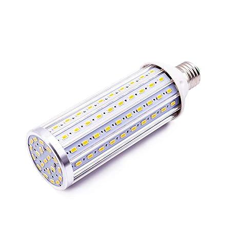 Bombilla LED E27, 45W LED maíz Bombilla 4500K Blanco Natural, 450W Incandescente Bombillas Equivalentes 4450lm 140x5630SMD No Regulable, Edison ...