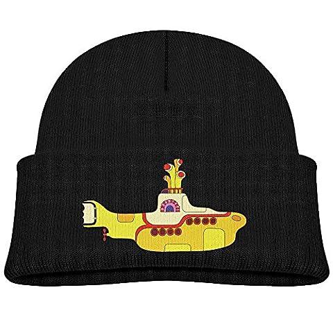 A Winterfallpop Boys/Girls The Beatles LEGO Yellow Submarine Winter Beanie Skull Hat&Cap Unisex (The Beatles Lego)