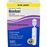 Bausch & Lomb Boston One Step Liquid Enzymatic Cleaner, Protein Remover, 0.01 Fluid Ounce, 12 Count