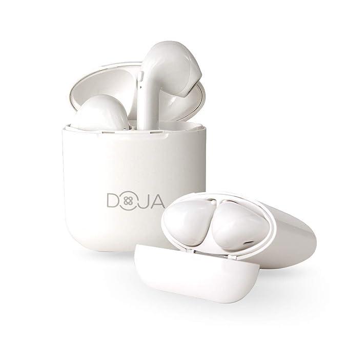 DOJA Barcelona | Auriculares Bluetooth 5.0 inalambricos i9 Plus | Cascos de máxima Potencia y Calidad de Sonido | BATERIA 3H | Carga portatil | Compatible ...