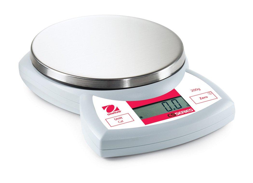 Ohaus Portable équilibre CS, 200 g x 0.1 g, 1 83997617