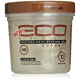Eco Style Coconut Styling Gel 16oz + 1 Free Sample