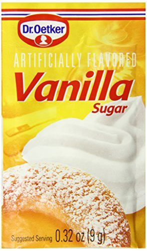 Dr. Oetker Vanilla Sugar, .32-Ounce (Pack of 6)