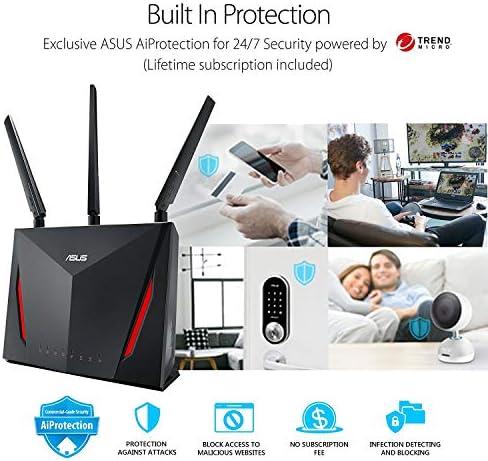 ASUS RT-AC86U- Router Gaming AC2900 Doble Banda Gigabit (QoS, USB ...