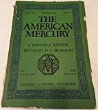 img - for THE AMERICAN MERCURY (MARCH 1926 - VOL. VII, NO. 27) book / textbook / text book