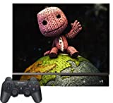 Little Big Planet 2 Sackboy Sack Boy Vinyl Decal Skin Protector Cover Game SKIN for Sony Playstation 3 PS3, Best Gadgets