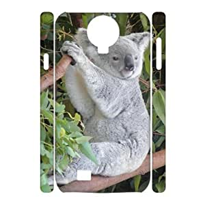 LZHCASE Diy Case Koala Cover For Samsung Galaxy S4 i9500 [Pattern-1]