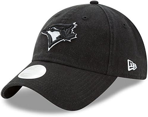 f3f2fc89c2d Toronto Blue Jays Women s Preferred Pick 9TWENTY Adjustable Hat - Black  Size One Size