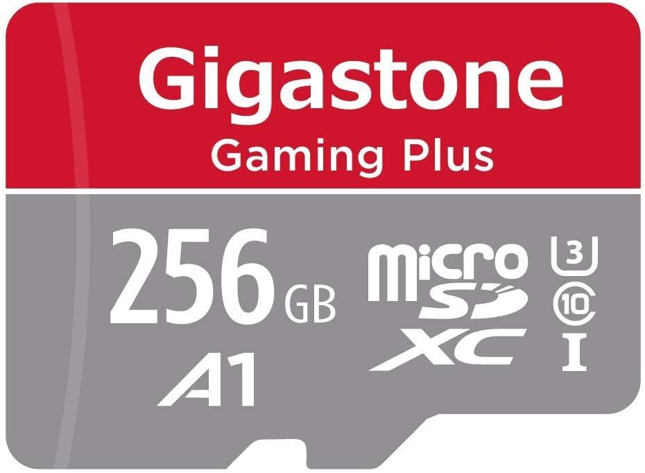 Gigastone Tarjeta de memòria Micro SDXC de 256GB con Adaptador(Clase 10, U1, UHS-I A1).Lectura/Escritura Rendimiento hasta 95/35 MB/s. Proporcionar con Full HD Disponible.: Amazon.es: Electrónica