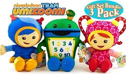 Team Umizoomi Plush Set - Bot, Geo, Milli by Fisher-Price
