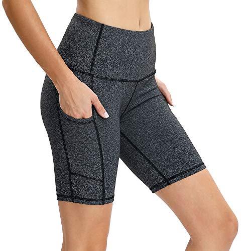 beef090c11 Vogyal Women's 8' Yoga Shorts High Waist Tummy Control Workout ...