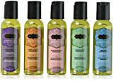 Kama Sutra Intimate Gift Sets & Fun Travel Kits MASSAGE TRANQUILITY KIT (Includes five petite massage oils in a zippered travel case.)
