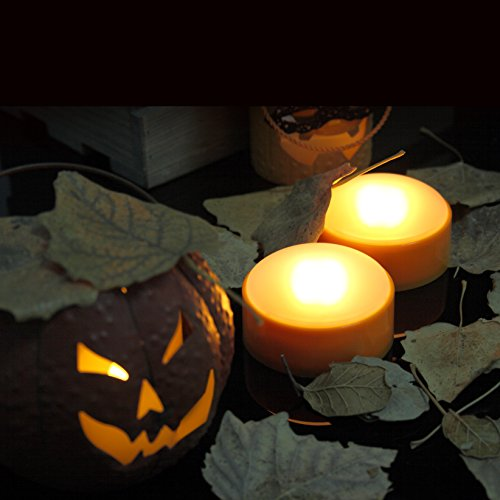 Candle Choice Set Of 2 Led Pumpkin Lights With Remote And