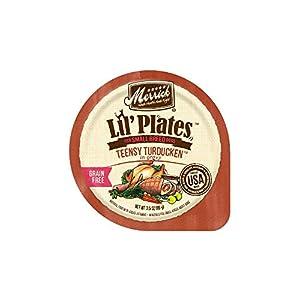 Merrick Lil' Plates Grain Free Teensy Turducken Small Breed Wet Dog Food, 3.5 Oz, Case Of 12 Cups