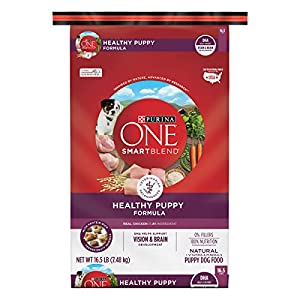 Purina ONE Natural Dry Puppy Food; SmartBlend Healthy Puppy Formula - 16.5 lb. Bag 38