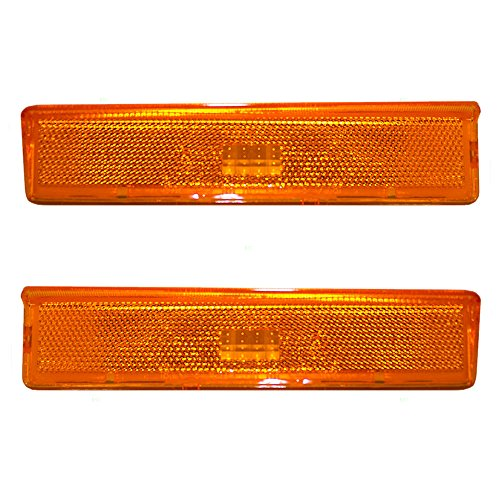 - Driver and Passenger Signal Side Marker Lights Lamps Replacement for Ford Pickup Truck SUV EOTZ15A201B EOTZ15A201 A
