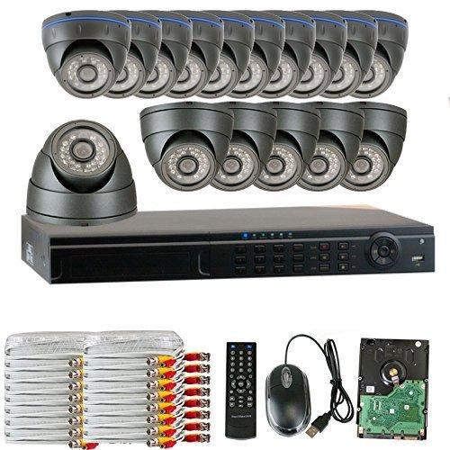 GW Security 16 Channel HD 1600TVL Outdoor / Indoor 1.3MP ...