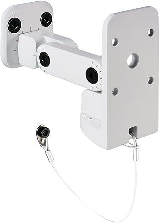 Ah Stands Suwmb10w Universal Wandhalterung Für Boxen Bis 10kg Weiß Musikinstrumente