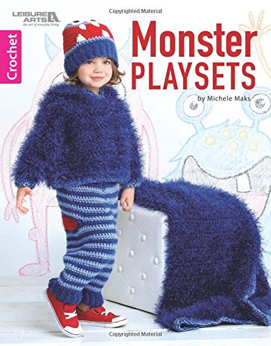 Monster Playsets | Crochet | Leisure Arts (7227)