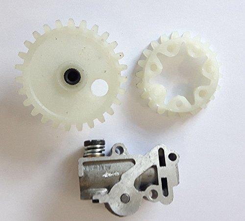 WANWU Kompatibel Stihl 038/MS380/MS381//Öl Pumpe /& Worm Gear Plus Sporn Rad