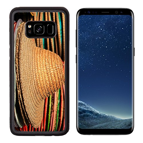 Images Of Costumes Of Different Countries (MSD Premium Samsung Galaxy S8 Aluminum Backplate Bumper Snap Case Hat woven art countryside of Thailand IMAGE 19049395)