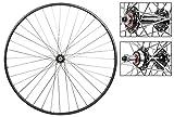 Sun M13 Road Wheel Set - 700c, 5/6/7-Speed FW, 36H, Black