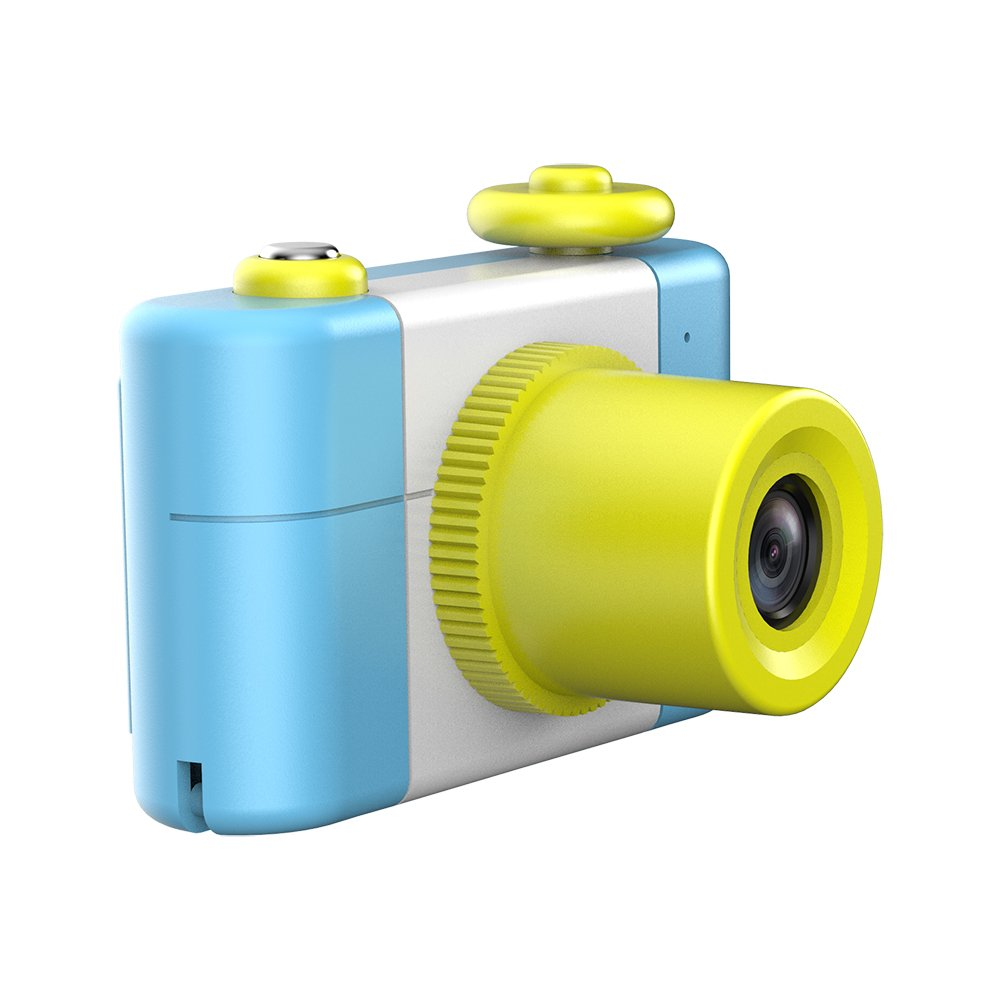 CamKing Kids Children's Camera, 1.5 Inch Screen Mini Digital Camera (Blue) by CamKing (Image #4)