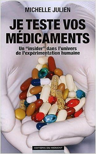 Je teste vos medicaments un