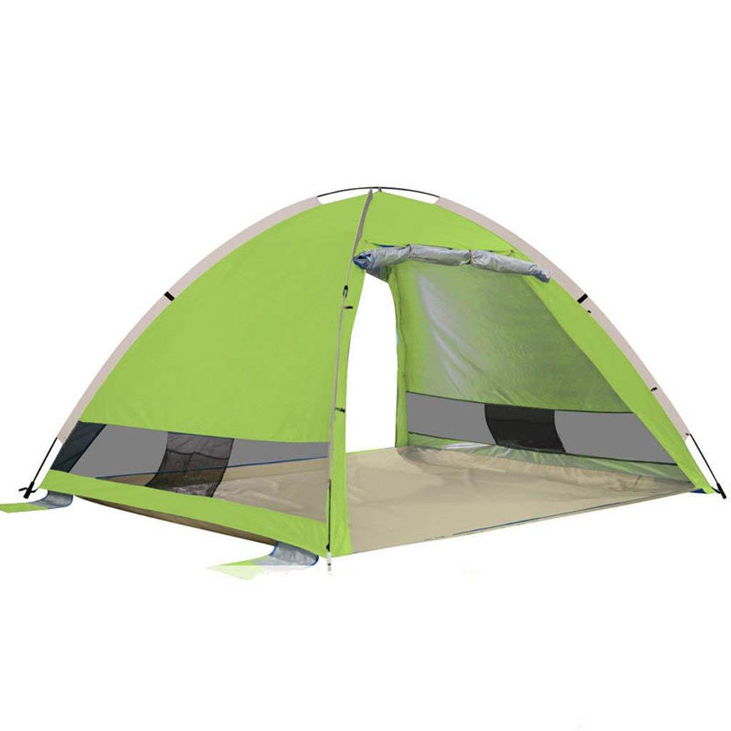 Tent-GXL GXL Zelt, automatische Schnell Öffnen Winddicht Outdoor Strand Meer Sonnenschutz Angeln Shed Zelt
