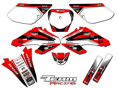 (Team Racing Graphics kit compatible with Honda 2001-2003 XR 80/100, ANALOG)