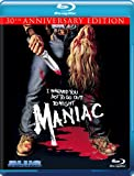 Maniac (30th Anniversary Edition) [Blu-ray] cover.