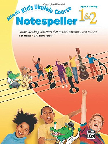 Alfreds Kids Ukulele Course Notespeller product image