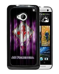 Unique Custom Designed Cover Case For HTC ONE M7 With Fiorentina Black Phone Case 1