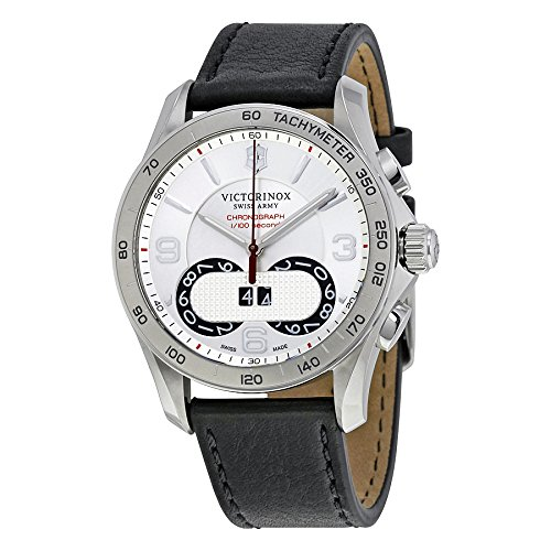 Victorinox-Mens-Chrono-Classic-Swiss-Quartz-Stainless-Steel-and-Leather-Casual-Watch-ColorBlack-Model-241703