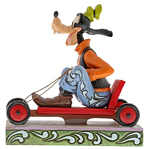 Enesco Disney Traditions Soap Box Derby Goofy