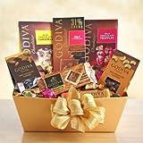 Exquisite Arrangements Godiva Chocolate Gift Basket