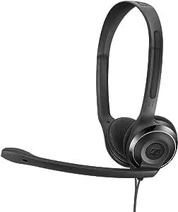 Sennheiser PC 8 USB Internet Telephony On-Ear Headset, Black