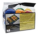 DJE Handwovens Chasing Rainbows Napkin, Placemat or Runner Kit for Rigid Heddle or 2 Shaft Loom