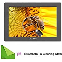 LILLIPUT 7 Q7 Full HD on-Camera Metal Slim with SDI and HDMI Cross Conversion With EACHSHOT® Cleaning Cloth by EACHSHOT